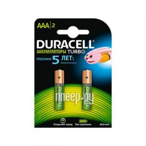 Купить Аккумулятор AAA - Duracell HR03 850 mAh BL2 (2 штуки)