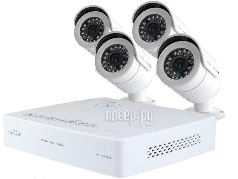 Видеонаблюдение iVUE Mini 960Н PRO 4+4 800 ТВЛ 6004K-CK20-1099ICR