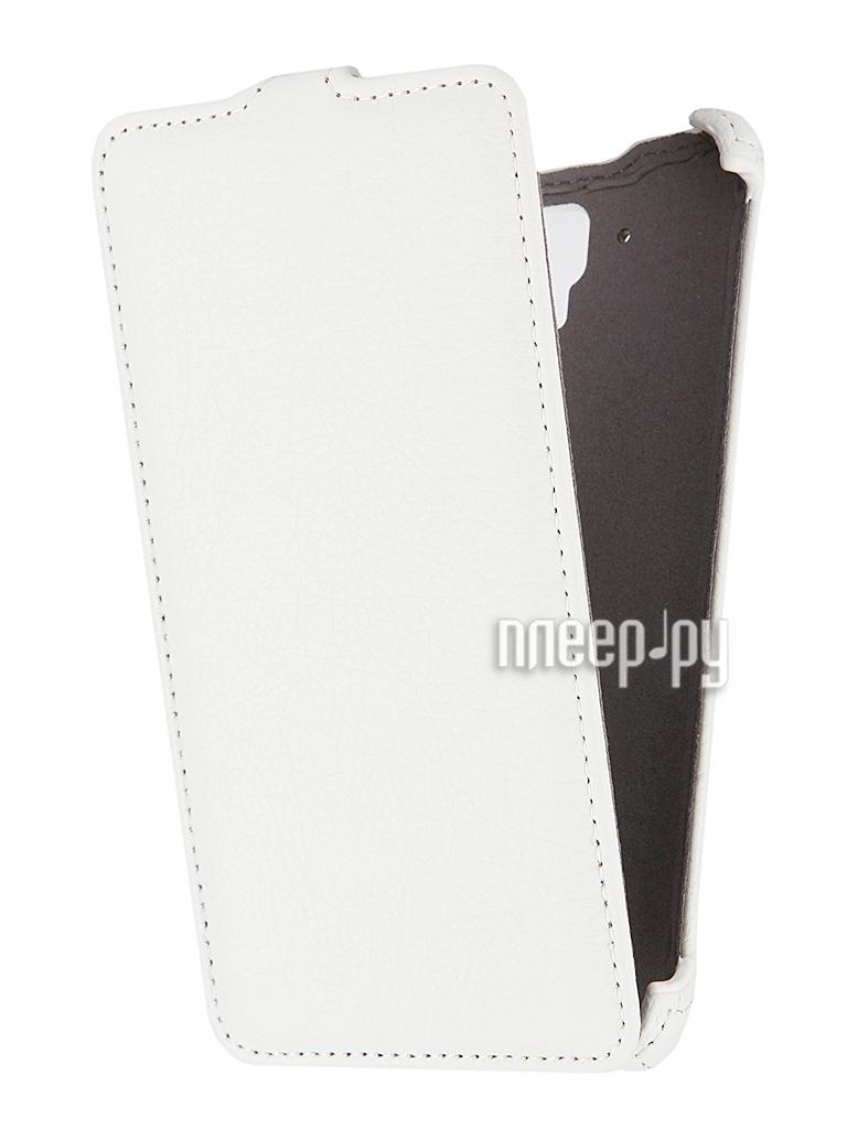 Аксессуар Чехол Lenovo S8 Gecko White
