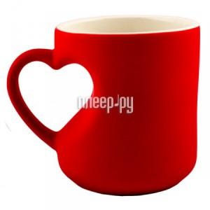 Купить Кружка Эврика кружка-хамелеон Сердце Red 95339