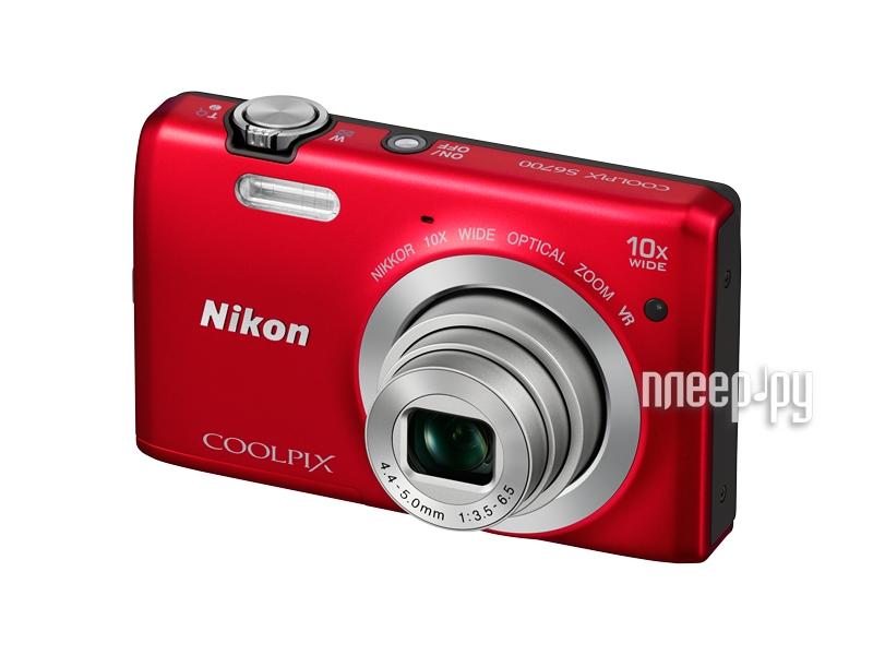 Фотоаппарат Nikon S6700 Coolpix Red