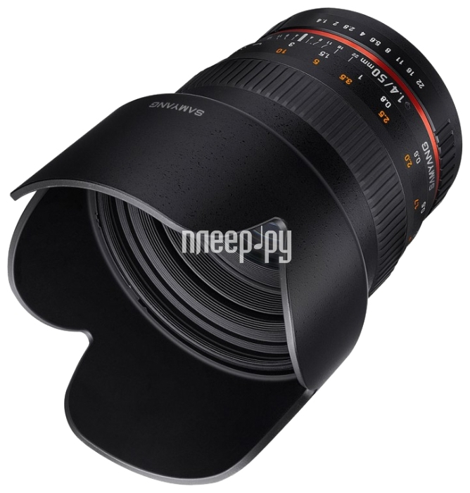Объектив Samyang Samsung NX 50 mm f / 1.4 AS UMC купить