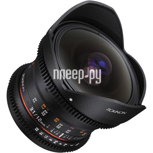 Объектив Samyang Nikon MF 12 mm T3.1 VDSLR купить