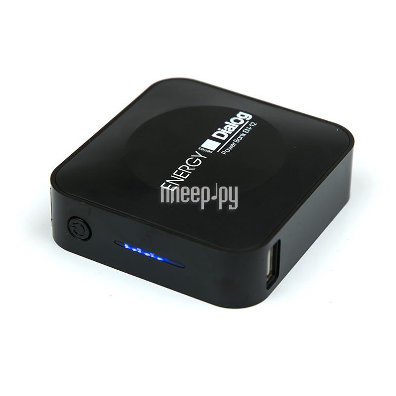 Аккумулятор Dialog Energy EN-12 1 USB 6600mAh