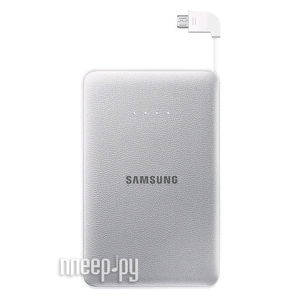 Аккумулятор Samsung microUSB 8400mAh Silver SAM-EB-PG850BSRGRU