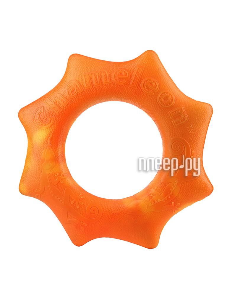 Игра спортивная Chameleon Changing Colorz Большое летающее кольцо Фрисби Orange 89102