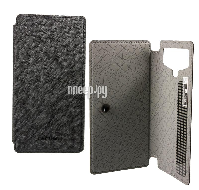 Аксессуар Чехол 4.5-inch Partner Book-case универсальный Black ПР032028