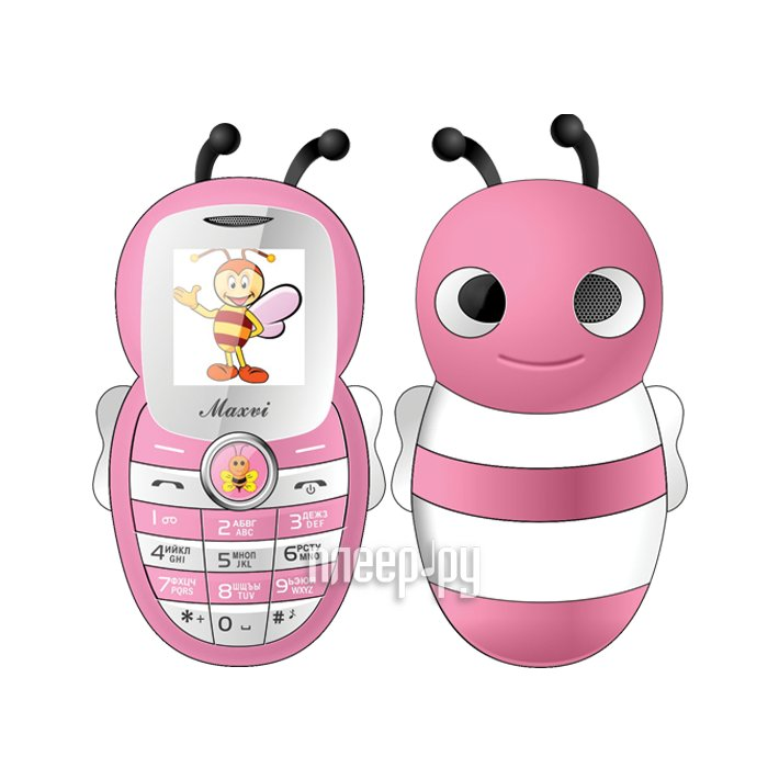Сотовый телефон Maxvi J8 Pink