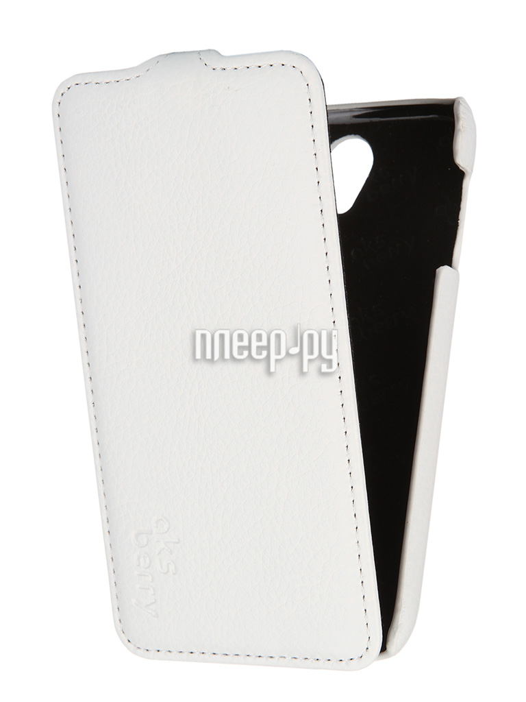 Аксессуар Чехол Lenovo A859 Aksberry White