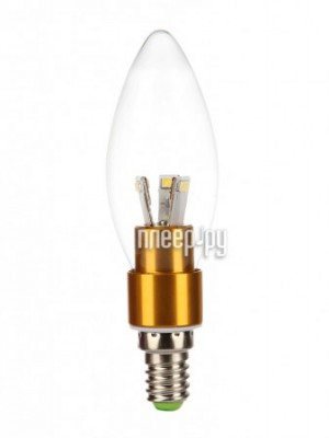 Лампочка Jazzway PLED-C37 3w 250 Lm E14 Clear Gold (4000K)