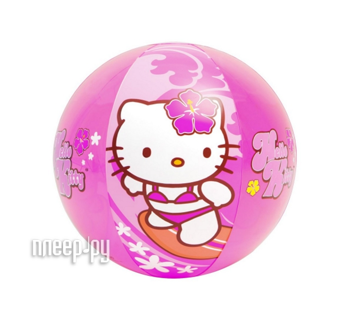 Игрушка для плавания Intex Мяч Hello Kitty 58026