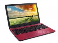 Acer Aspire E5-511G-P26J Red NX.MS0ER.003 (Intel Pentium N3540 2.16 GHz/4096Mb/1000Gb/DVD-RW/nVidia GeForce 810M 1024Mb/Wi-Fi/Bluetooth/Cam/15.6/1366x768/Windows 8.1 64-bit)