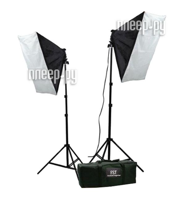 Комплект студийного света FST ET-402 KIT купить