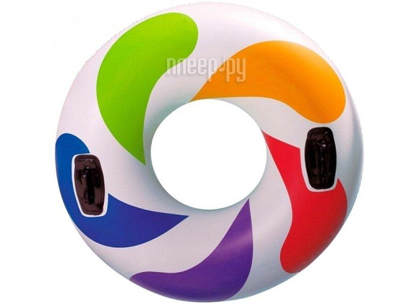 Надувной круг Intex Цветной Водоворот 58202