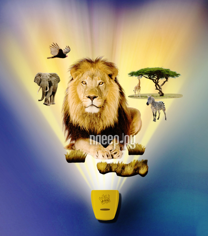 Светильник Uncle Milton 2187 Африканское сафари купить