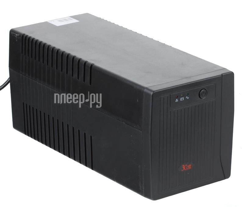 Источник бесперебойного питания 3Cott Micropower 1000VA 600W