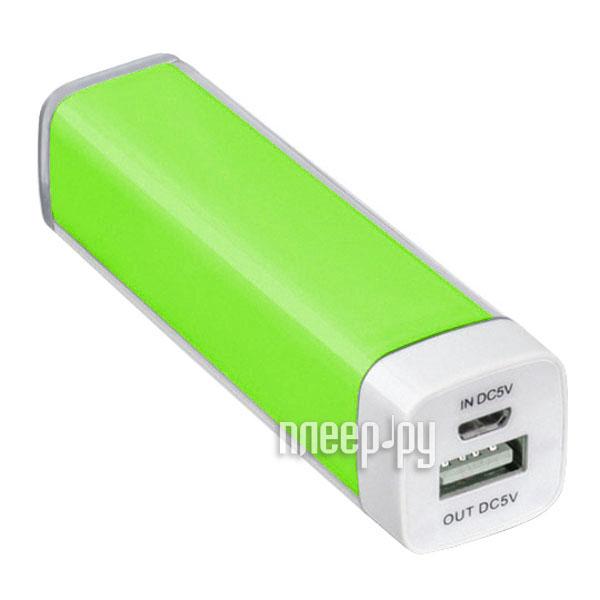 Аккумулятор SmartBuy Power Bank EZ-BAT 2000 mAh Green SBPB-1030