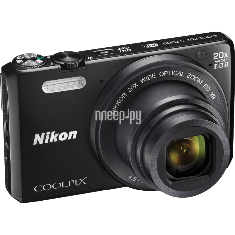 Фотоаппарат Nikon S7000 Coolpix Black