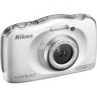 ����������� Nikon S33 Coolpix White (�������� Nikon)