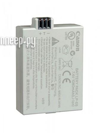 Аккумулятор Canon LP-E5 for EOS 450D / EOS 500D / EOS 1000D  Pleer.ru  1597.000