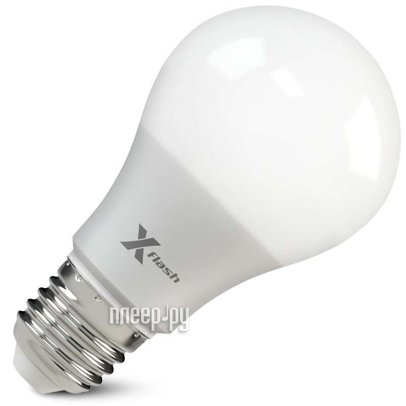 Лампочка X-flash XF-E27-GCL-A60-P-10W-3000K-220V 46683