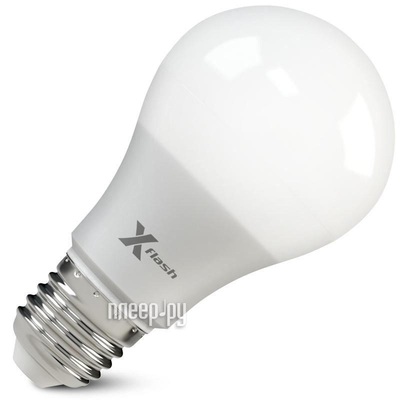 Лампочка X-flash XF-E27-GCL-A60-P-10W-4000K-220V 46690