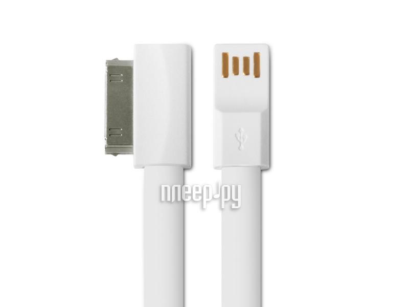 Аксессуар DF 30pin - USB DF iMAGNET-01 White