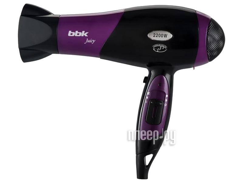 Фен BBK BHD3225i Black-Purple
