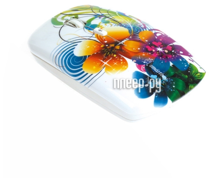 Мышь беспроводная SmartBuy 327AG USB Flowers Full-Color Print SBM-327AG-FL-FC