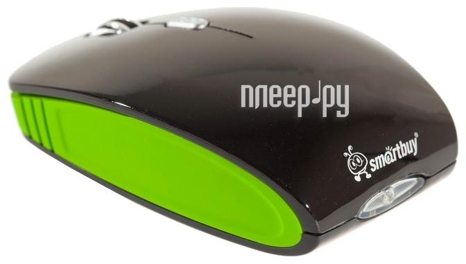 Мышь SmartBuy 336CAG USB Black-Green SBM-336CAG-KN