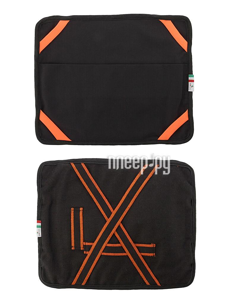 Аксессуар Чехол Hi-Fun VaVeliero iPad Suit Denim Nero-Arancione