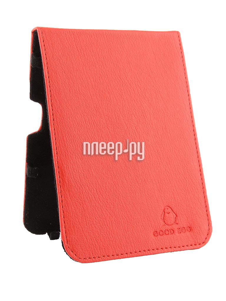Аксессуар Чехол Good Egg for Pocketbook 650 Lira эко кожа Red GE-PB650LIR2210