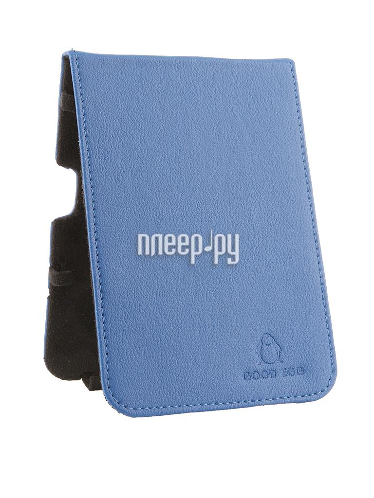 Аксессуар Чехол Good Egg for Pocketbook 650 Lira эко кожа Blue GE-PB650LIR2227 за 859 рублей