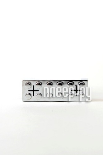 Колонка Hi-Fun hi-Brick for iPod and iPhone Silver
