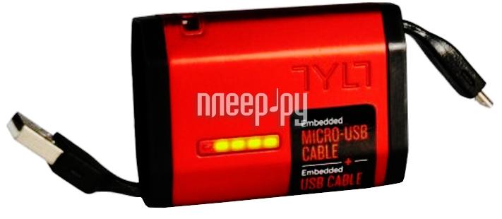Аккумулятор TYLT Zumo Micro-USB 1500mAh Red MV9ZUMORD-T