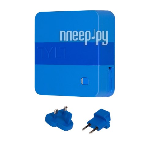 Зарядное устройство TYLT micro-USB / Lightning / USB 6000 mAh IP5NRG6TCBL-EUK Blue