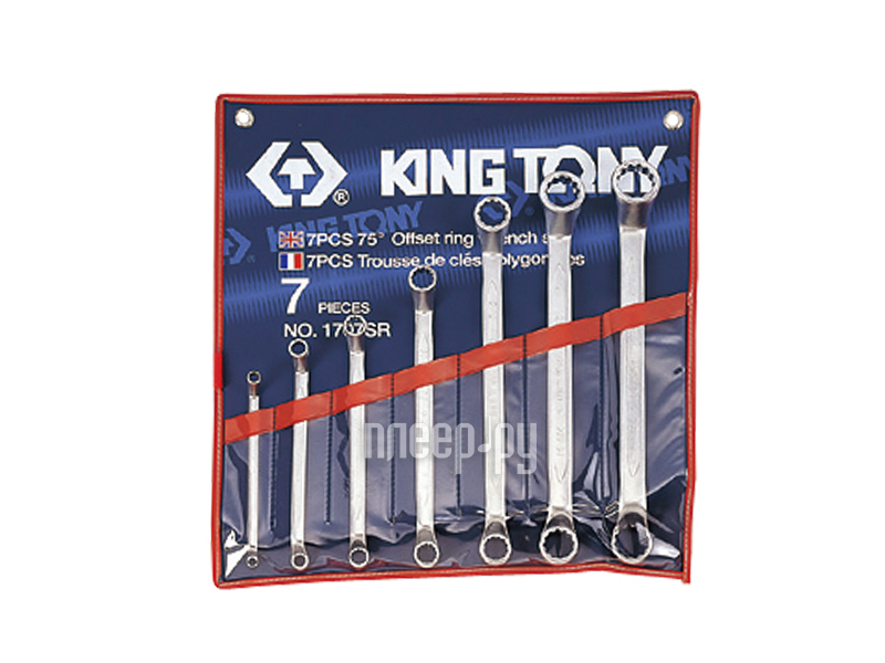 Набор инструмента KING TONY 1707SR