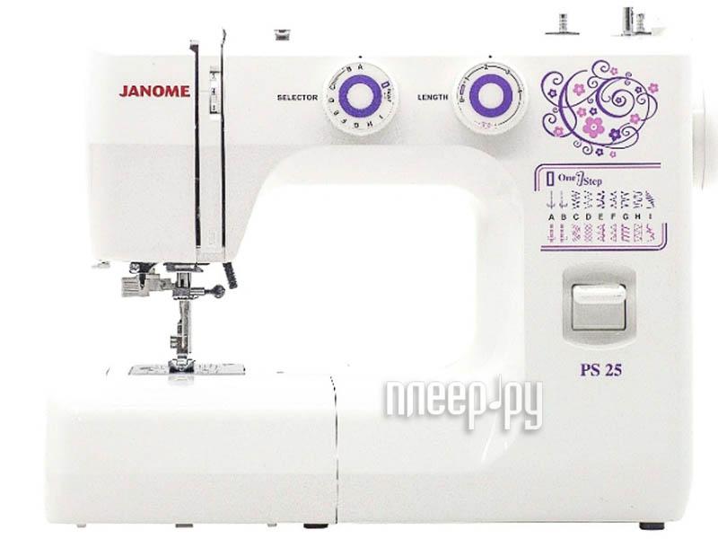 Швейная машинка Janome PS25 за 6784 рублей