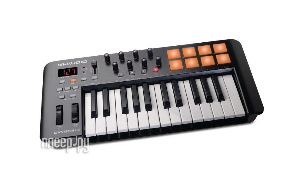 MIDI-клавиатура M-Audio Oxygen 25 mk2 / mk4