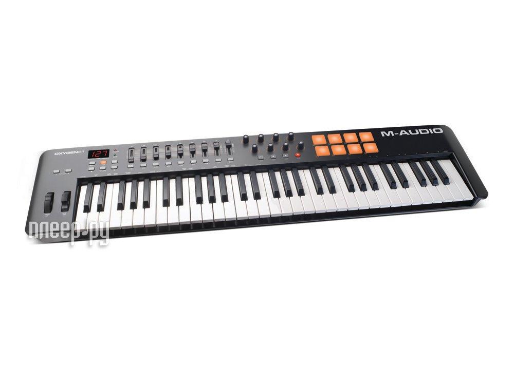 MIDI-клавиатура M-Audio Oxygen 61 mk2 / mk4