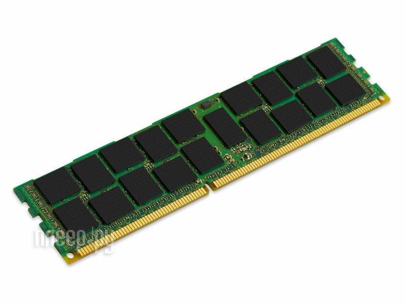 Модуль памяти Kingston PC3-12800 DIMM DDR3L 1600MHz ECC Reg CL11 - 4Gb KVR16LR11S8/4