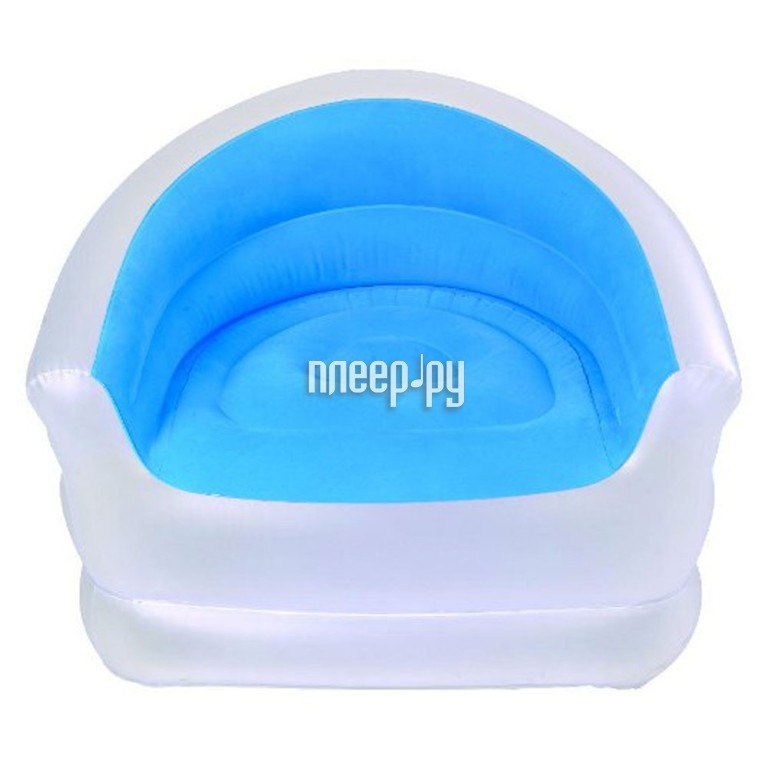 Надувное кресло Jilong Relax Colour-Splash Blue-White JL037257N