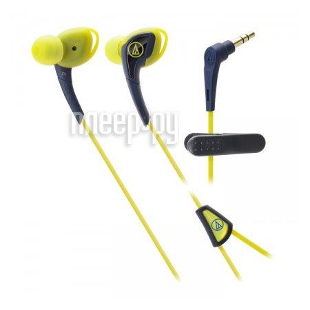 Наушники Audio-Technica ATH-SPORT2 NY Navy-Yellow