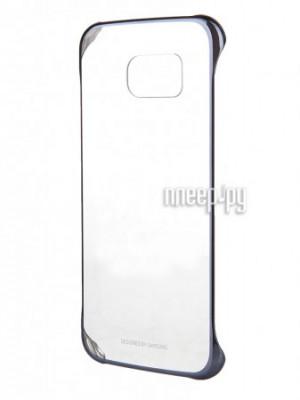 Аксессуар Чехол Samsung SM-G920 Galaxy S6 Clear Cover Black EF-QG920BBEGRU