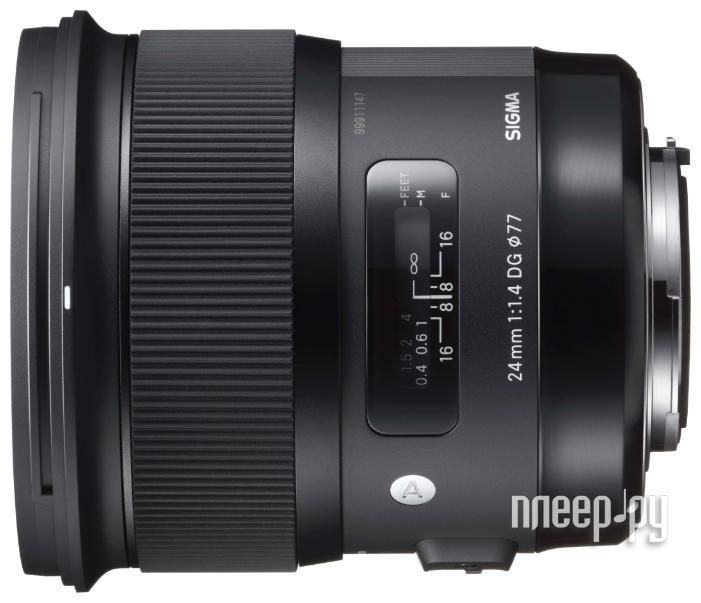 Объектив Sigma Nikon AF 24 mm F / 1.4 DG HSM ART купить