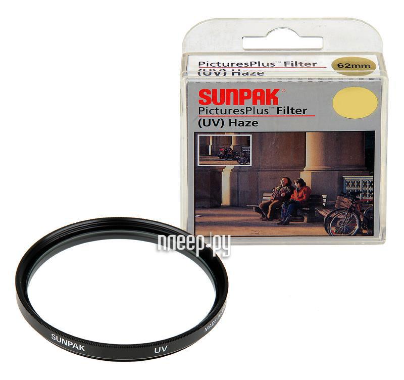 Светофильтр Sunpak UV (Haze) 77mm
