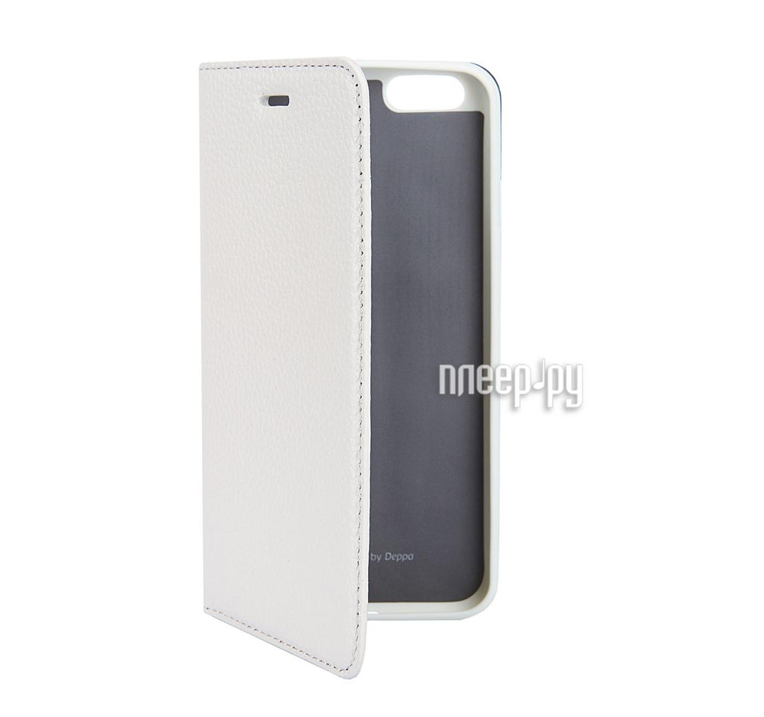 Чехол Krutoff Leather Case для iPhone 7 Black 10761
