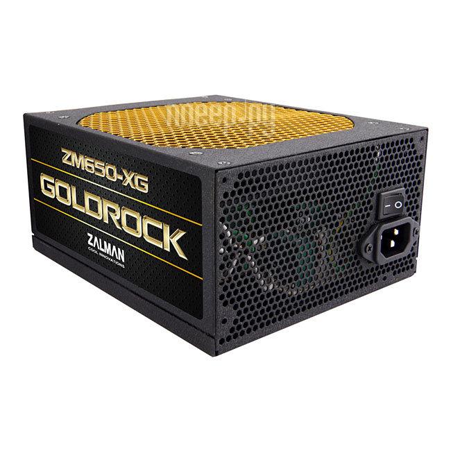 Блок питания Zalman Plus Gold ZM650-XG 650W