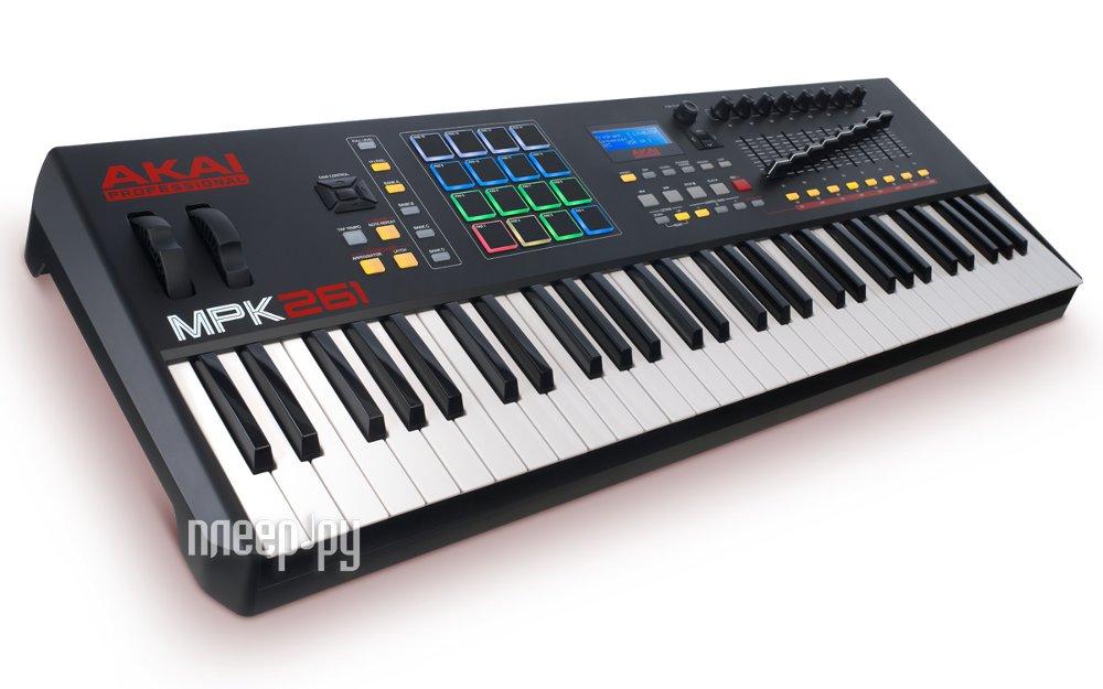 MIDI-клавиатура AKAI pro MPK261 USB