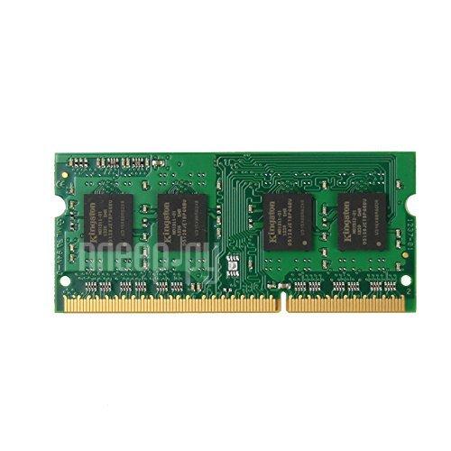 Модуль памяти Kingston PC3-12800 SO-DIMM DDR3L 1600MHz CL11 - 4Gb KVR16LS11/4